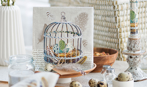 Ambiente servetten Birds-Nest