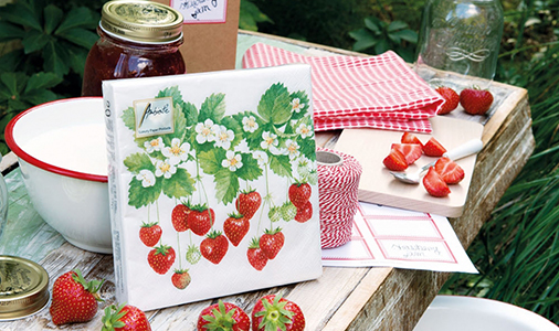 Ambiente servetten summer fruits